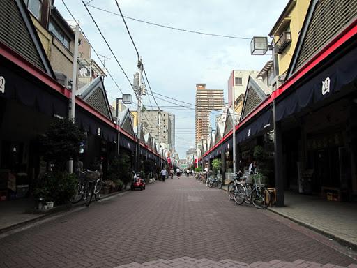 月島西仲通り商店街