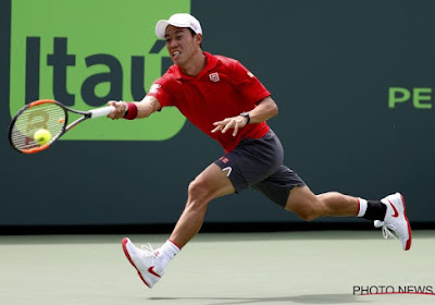 Ook Kei Nishikori moet afhaken voor de Australian Open