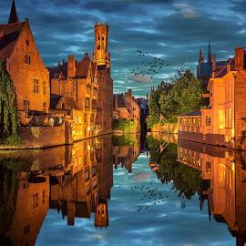 Bruges by Nick Moulds - City,  Street & Park  Historic Districts ( bruges, brugge )