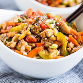 Healthier Chicken Teriyaki Stir Fry Recipe