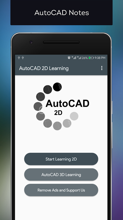 Screenshots of AutoCAD training for beginners for iPhone