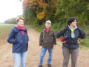 Photo: 20 km. Anne-Marie, Henri, Isabelle et Marc (qui prend la photo)