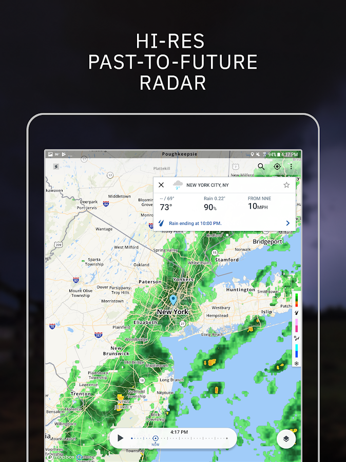 Storm RadarHurricane TrackerSevere Weather Alert Android Apps - Us severe weather alerts map