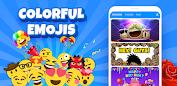 (APK) تحميل لالروبوت / PC Emoji Keyboard - Cute Emoji,GIF, Sticker, Emoticon تطبيقات screenshot