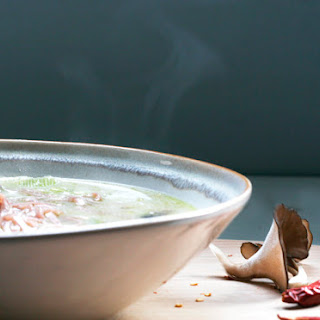 Lemongrass Coconut Noodle Soup