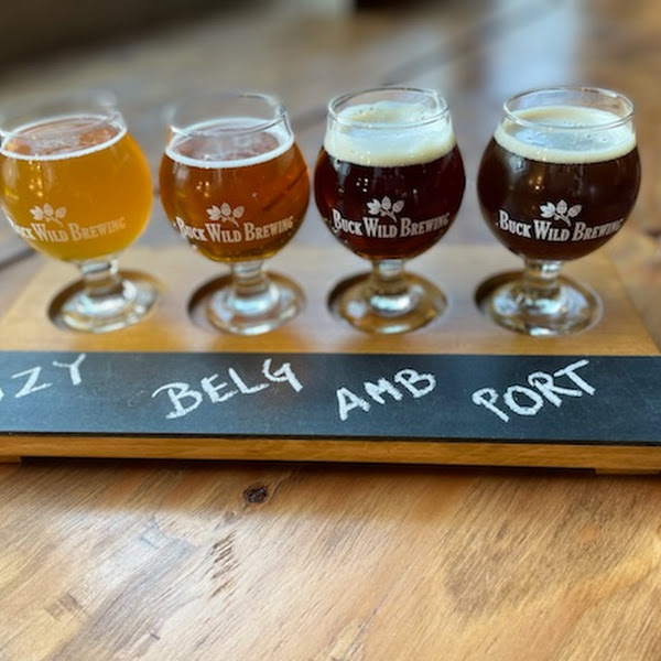 Photo from Buck Wild Brewing & Taproom