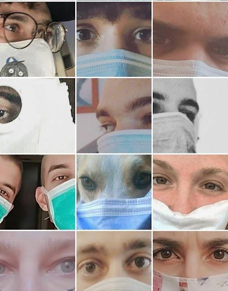 Miradas de Cuarentena se ha hecho viral en las redes sociales.