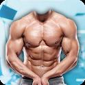 Man Body Builder Photo Suit : Six Pack Photo Suit icon