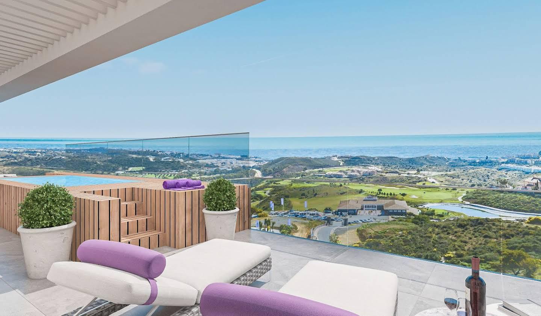 Appartement avec terrasse et piscine Mijas