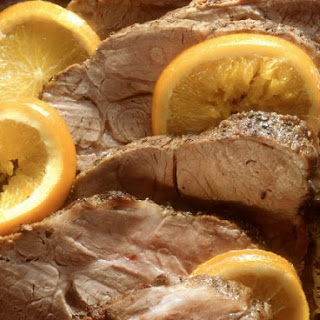 Roast Pork with Citrus Fruit