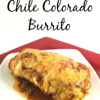 Chile Colorado Burritos.