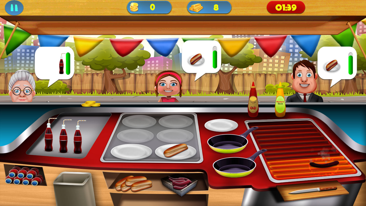 Fabulous Food Truck Free- screenshot