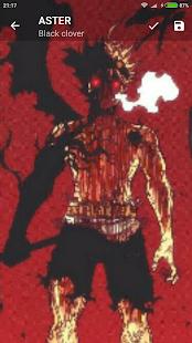wallpaper black clover anime - náhled