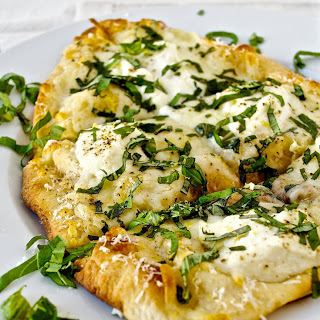 Lemon Ricotta White Pizza
