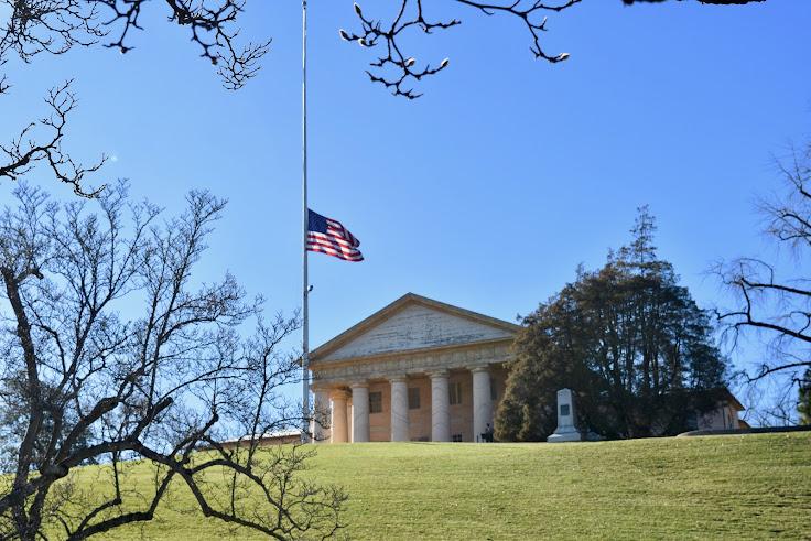 Arlington House as seen from JFK Gravesite
