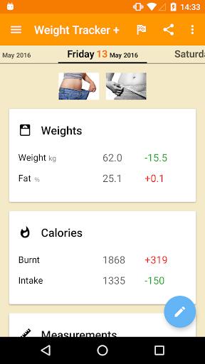 Weight Loss Tracker + screenshot 1
