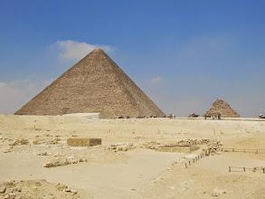 Photo: pirámide de keops o gran pirámide de giza
