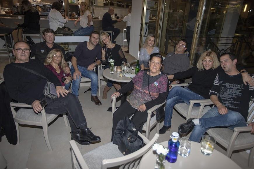 Asistentes al encuentro que llegaron desde Campos (Mallorca).