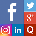 1-App: All Social Networking icon