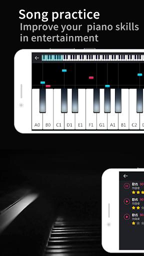 Real Piano Keyboard - Simply Magic Piano Tiles  screenshots 3