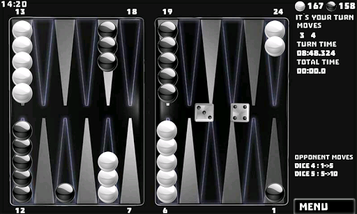 Backgammon Pack : 18 Games 6.060 androidappsheaven.com 5