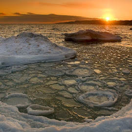Ice cold by Carl Chalupa - Landscapes Waterscapes ( water, winter, ice, snow, lake,  )