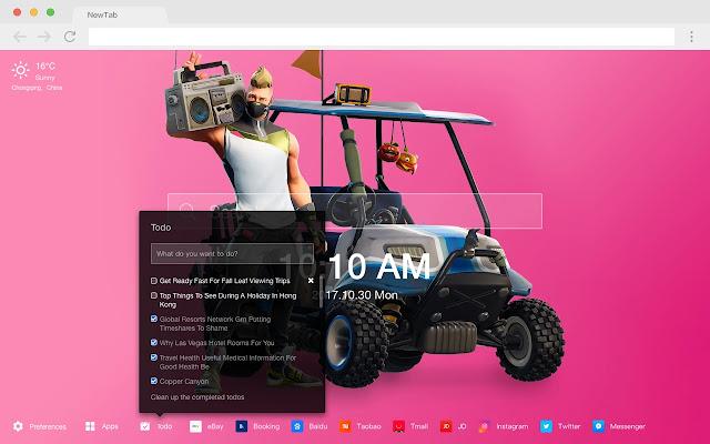 Fortnite Drift Pop Games HD New Tabs Themes