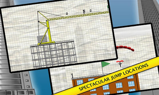 Stickman Base Jumper screenshot 2