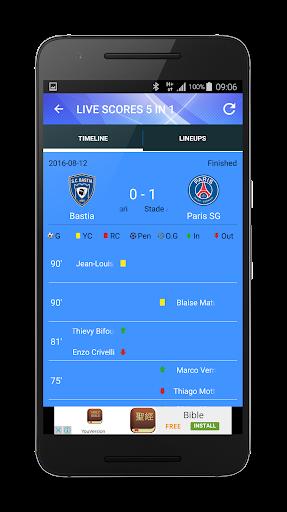 玩免費運動APP|下載LaLiga, EPL, All Leagues Live app不用錢|硬是要APP