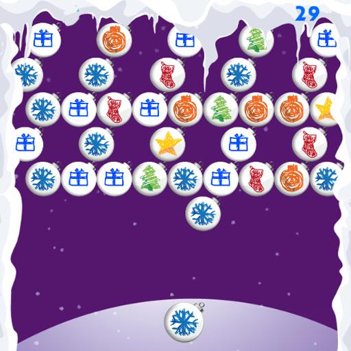 圣诞节游戏泡泡射击 街機 App LOGO-APP試玩