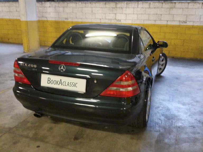 Mercedes Benz Slk Hire Roma