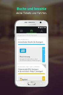 moovel carsharing, bus & train- screenshot thumbnail