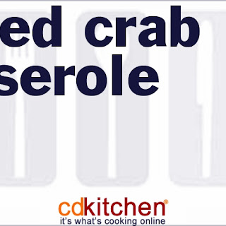Baked Crab Casserole Recipes.