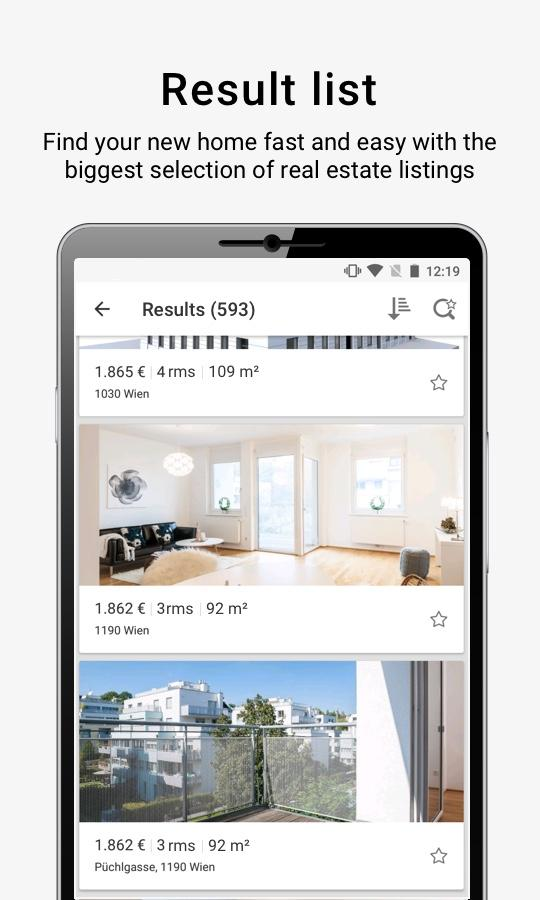 ImmobilienScout24.AT- screenshot