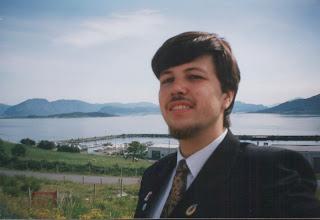 Photo: Sjølvportrett Kvamsøya, juni 2002