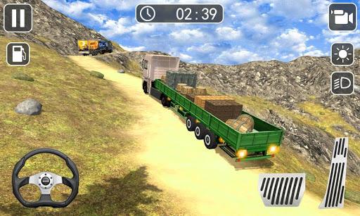 Truck Driver Simulator 2019 - Hill Truck Climb  captures d'écran 2