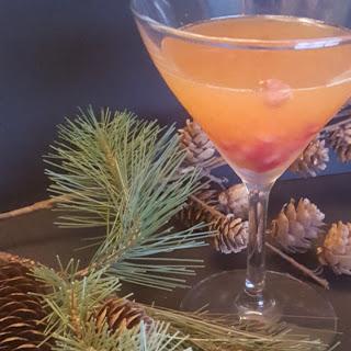 Winter Solstice Sunset Martini Recipe