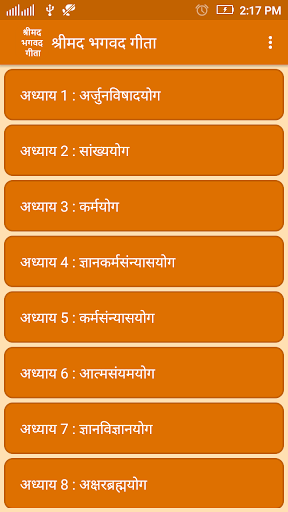 Bhagavad Gita in Hindi 1.5 screenshots 2