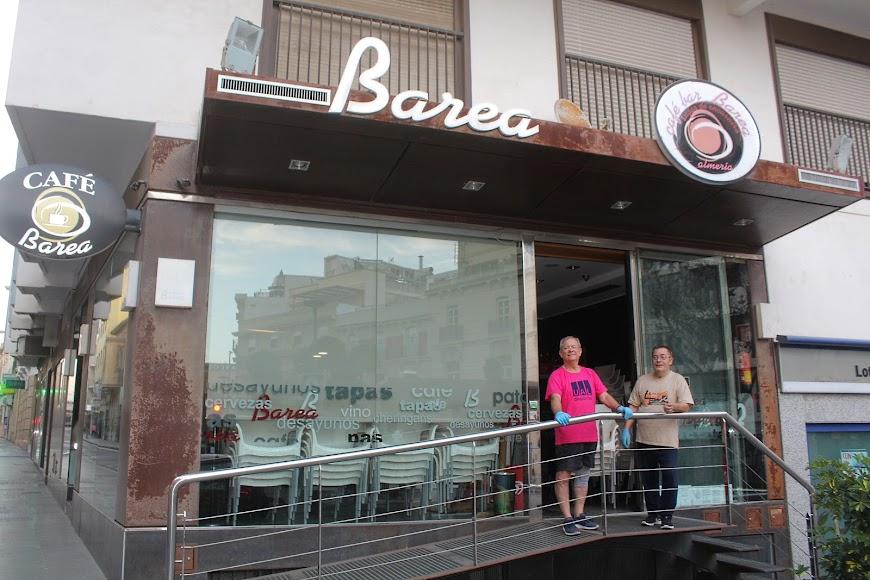 Café Bar Barea, ubicado en Plaza San Sebastián.