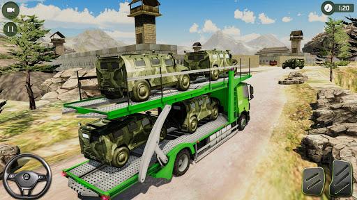 US Army Transporter: Truck Simulator Driving Games  captures d'écran 3