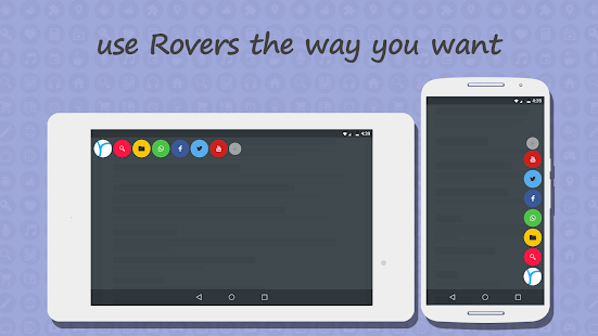 Rovers Floating Launcher Screenshot