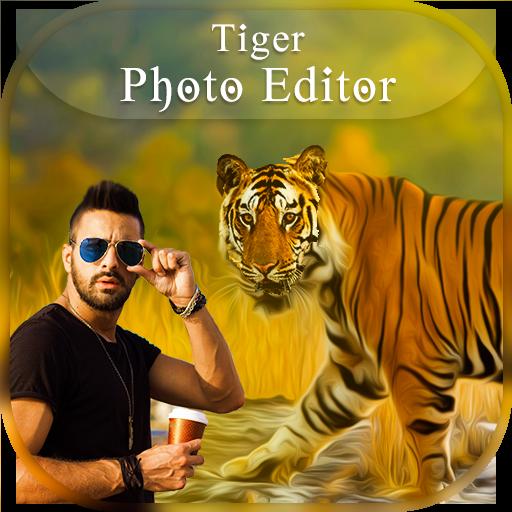 Tiger Photo Frames - Tiger Photo Editor (app)
