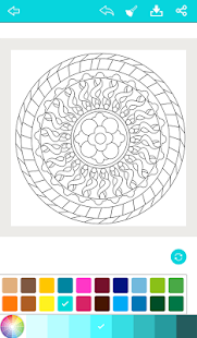 Mandala Coloring for Adults- screenshot thumbnail