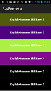 English Grammar Test Practice- screenshot thumbnail