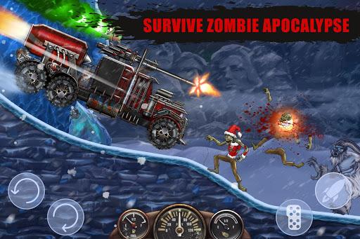 Zombie Hill Racing - Earn To Climb screenshots 1