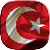 Flag of Turkey Video Wallpaper