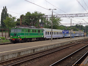 """Photo: EU07-173, TLK """"Jeziorak"""" Olsztyn Główny - Poznań Główny {Toruń Główny; 2013-07-14}"""