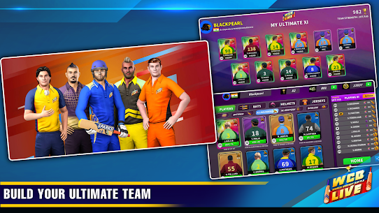 WCB LIVE Cricket Multiplayer: PvP Cricket Clash 4