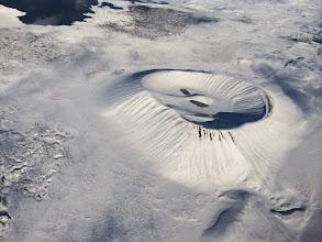 Photo: Crater near Lake Myvatn