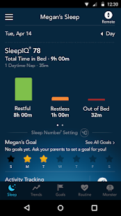 SleepIQ- screenshot thumbnail